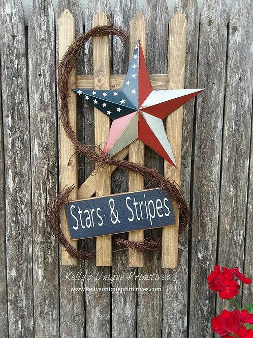 Stars & Stripes Fence