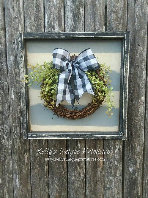 Farmhouse Grapevine Wreath