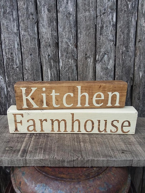 Farmhouse Kitchen Blocks