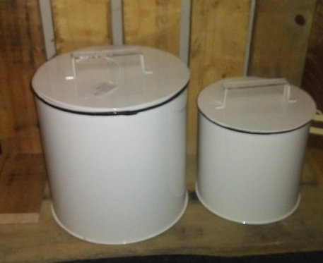 Enamelware Canister- S/2