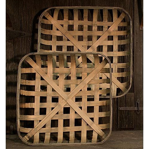Tobacco Baskets- S/2
