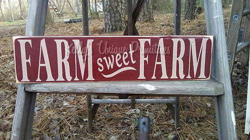 Farm Sweet Farm/Home Sweet Home