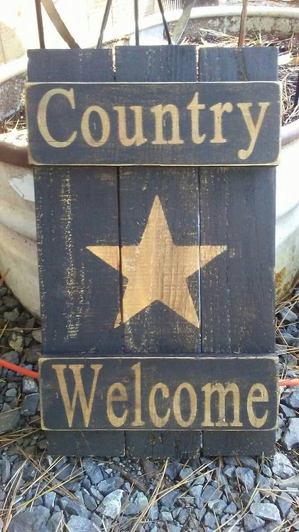Country Welcome Shutter