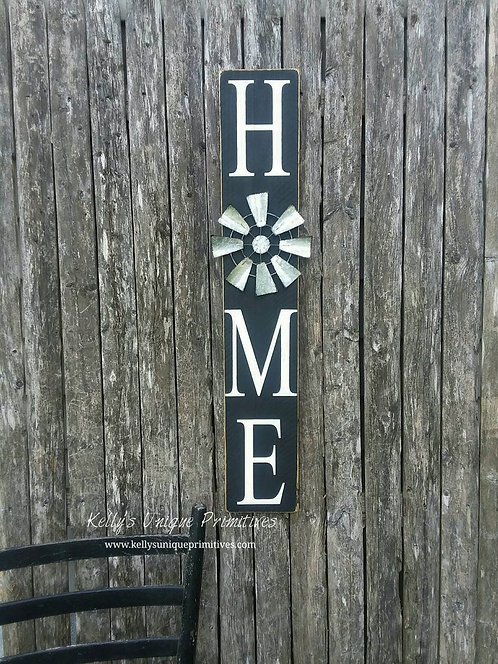 Vertical Home Signs