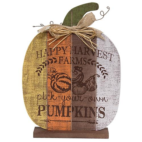 Happy Harvest Farms Pumpkin- Lg.