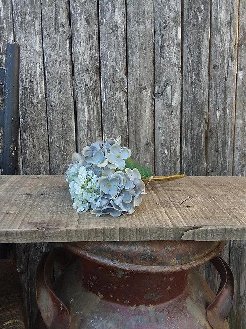 Blue Hydrangea Pick
