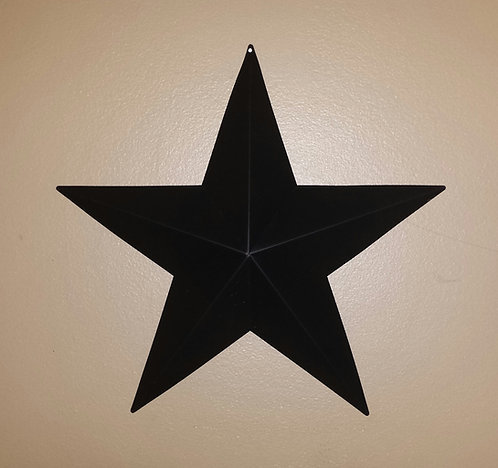 "24"" Black Barn Star"