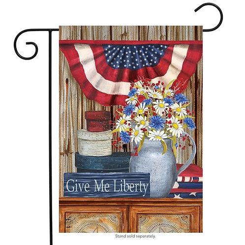 Give Me Liberty Garden Flag