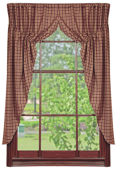 Vintage Star Prairie Curtain Set