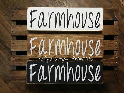 Farmhouse Shelf Sitter