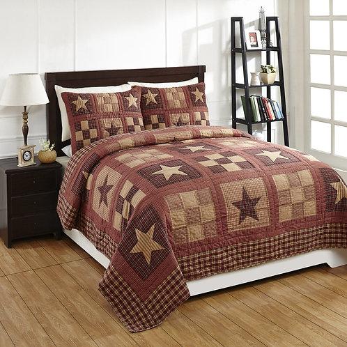 Bradford Star Quilt 3- Piece Set
