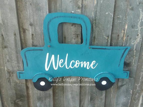 Welcome Truck Hanger