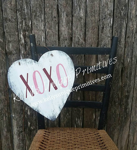 XOXO Heart Sign
