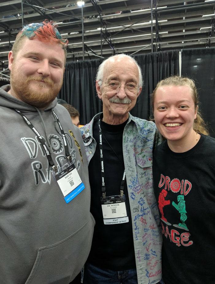 Meeting Woodie Flowers