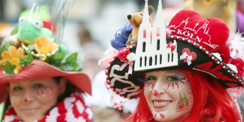 Щецин-Берлин. Фашинг карнавал 13 февраля 2021 г.