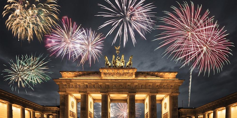 Щецин-Берлин 31 декабря - 1 января  2021 г.