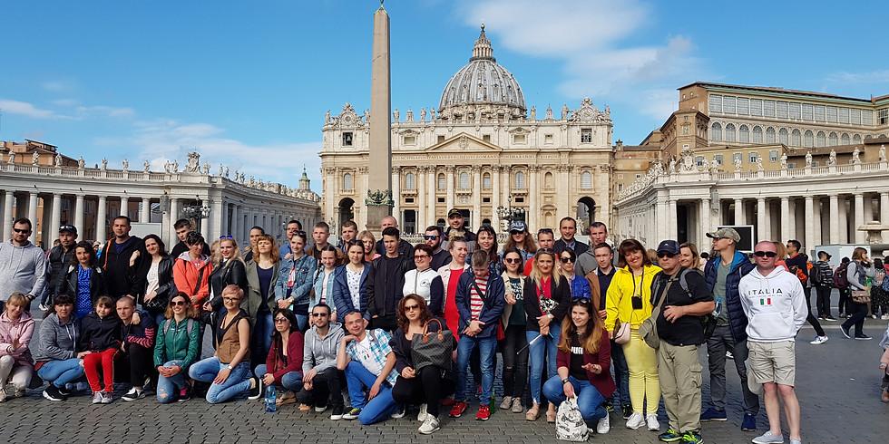 Евротур по маршруту: Гданьск – Венеция-Рим- Ватикан
