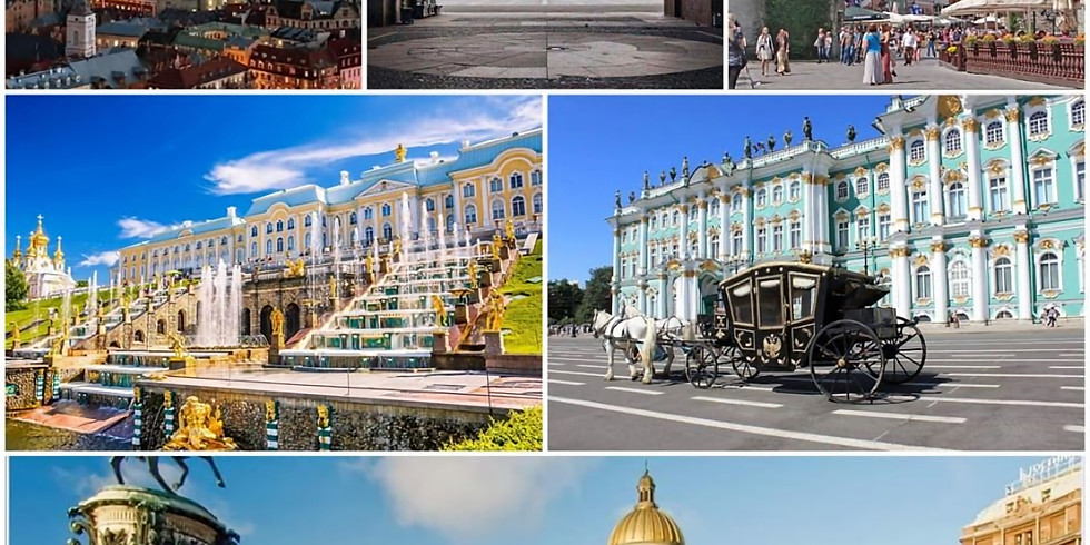 Санкт-Петербу́рг- Рига - Талин 28 июня - 5 июля 2020 г.