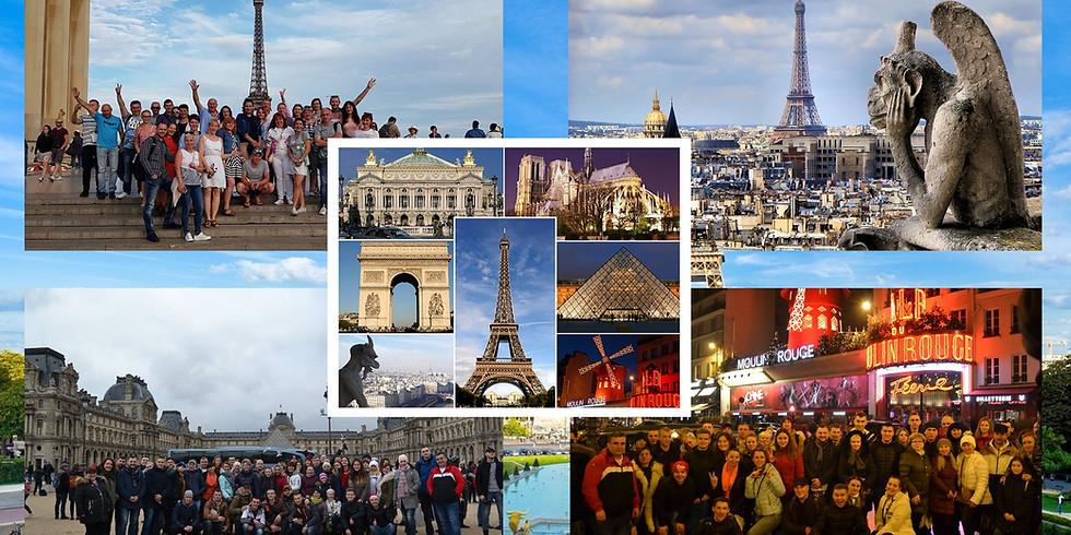Щецин-Париж 18-21 июля 2019 г.