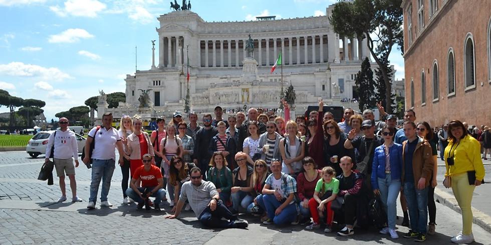 Щецин – Венеция-Рим- Ватикан