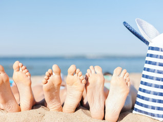 Happy Summer Feet: Keep the whole family safe and healthy this summer with these simple foot care ti