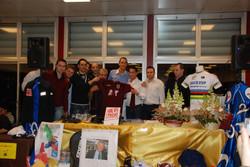 Gala asta maglia Reggiana con Beppe Alessi