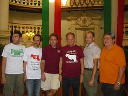 On M.Del Bue premia O.R.in sala  del Tricolore - Terremoto