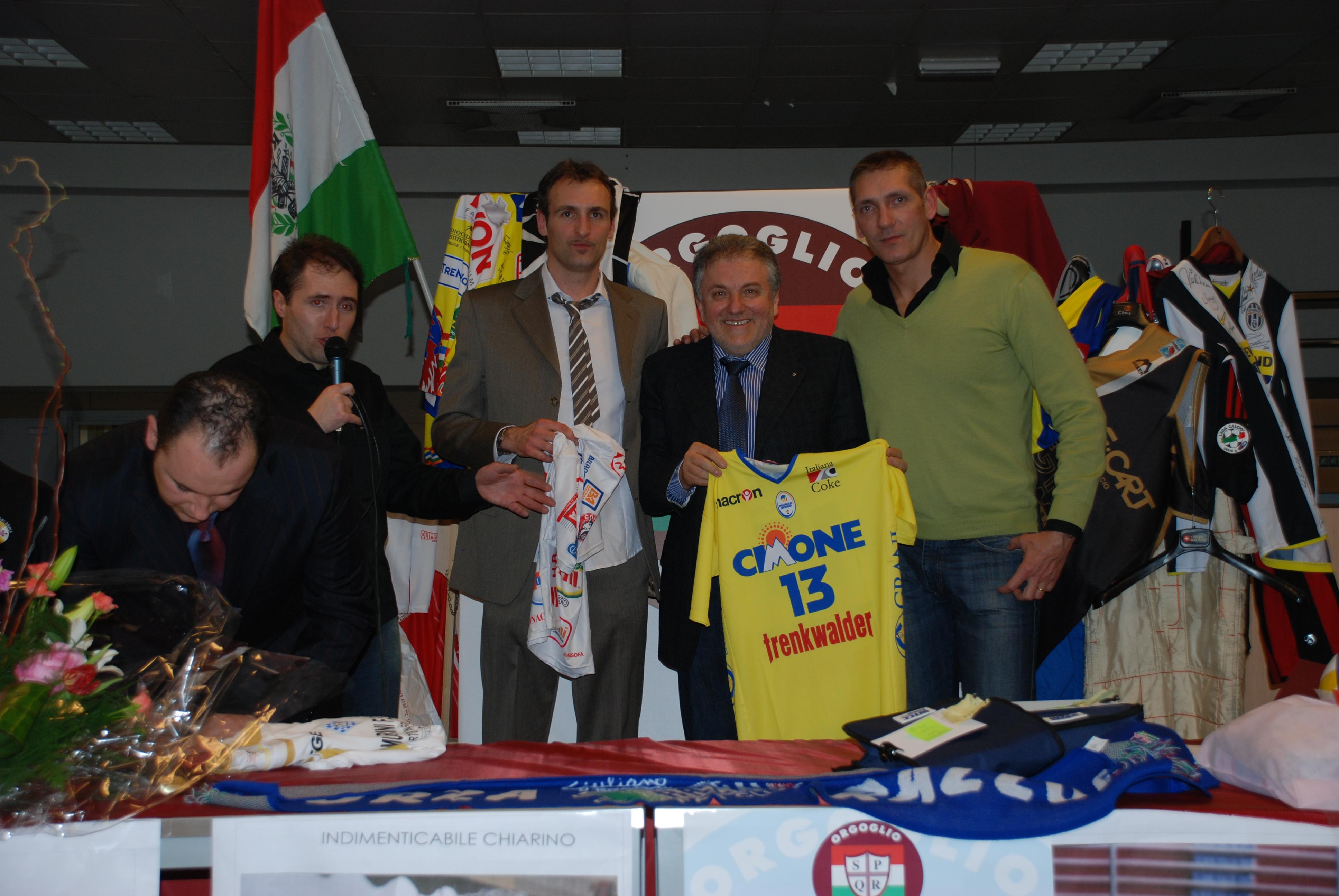 Gala Bertaccini e Cantagalli volley Reggio