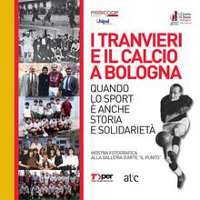 Volantino: I tranvieri e il calcio a Bologna