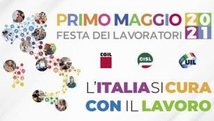 """1 MAGGIO """"L'ITALIA SI CURA CON IL LAVORO"""""""