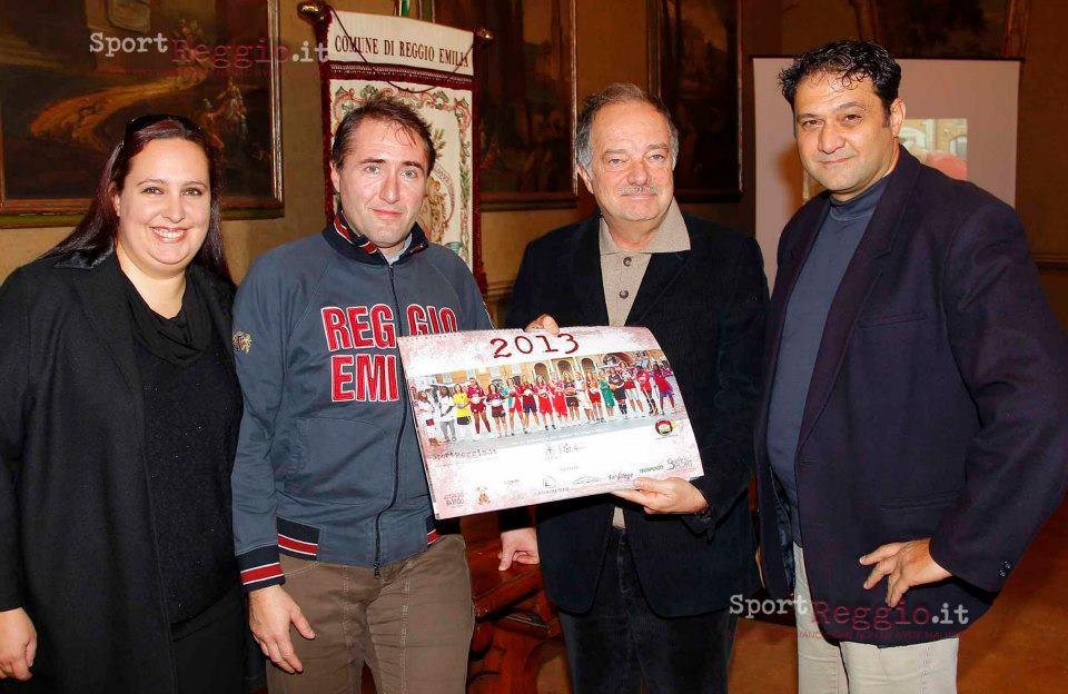 presentazione calendario dello sport 2013 con Onorevole Del bue