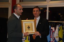 Gala dello sport. consegna memorial Sircana a Marcelletti all.pall.Reggiana