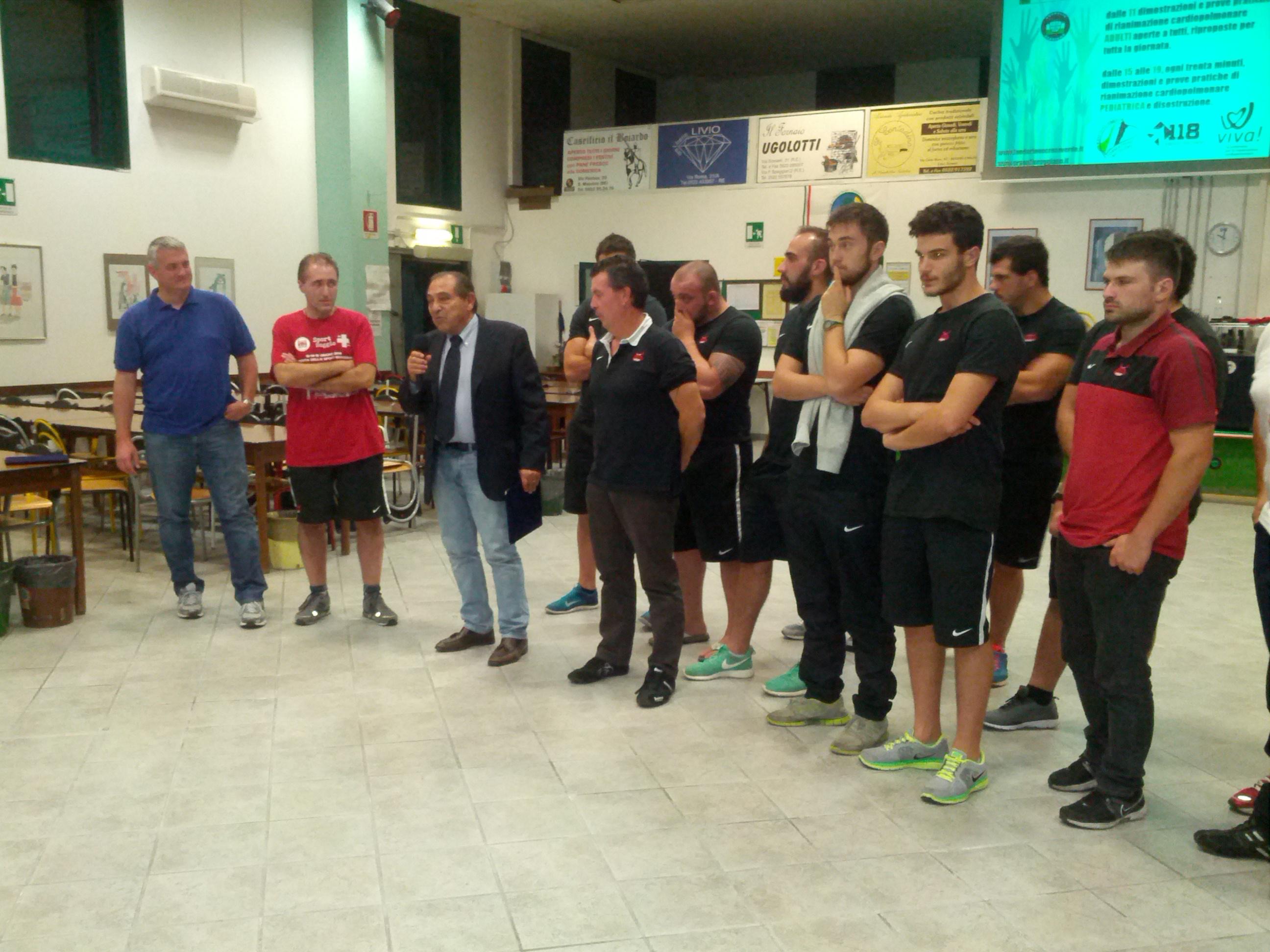 festa della prevenzione Rugby Reggio
