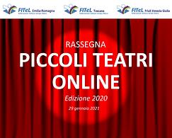 Edizione 2020 - Rassegna teatrale