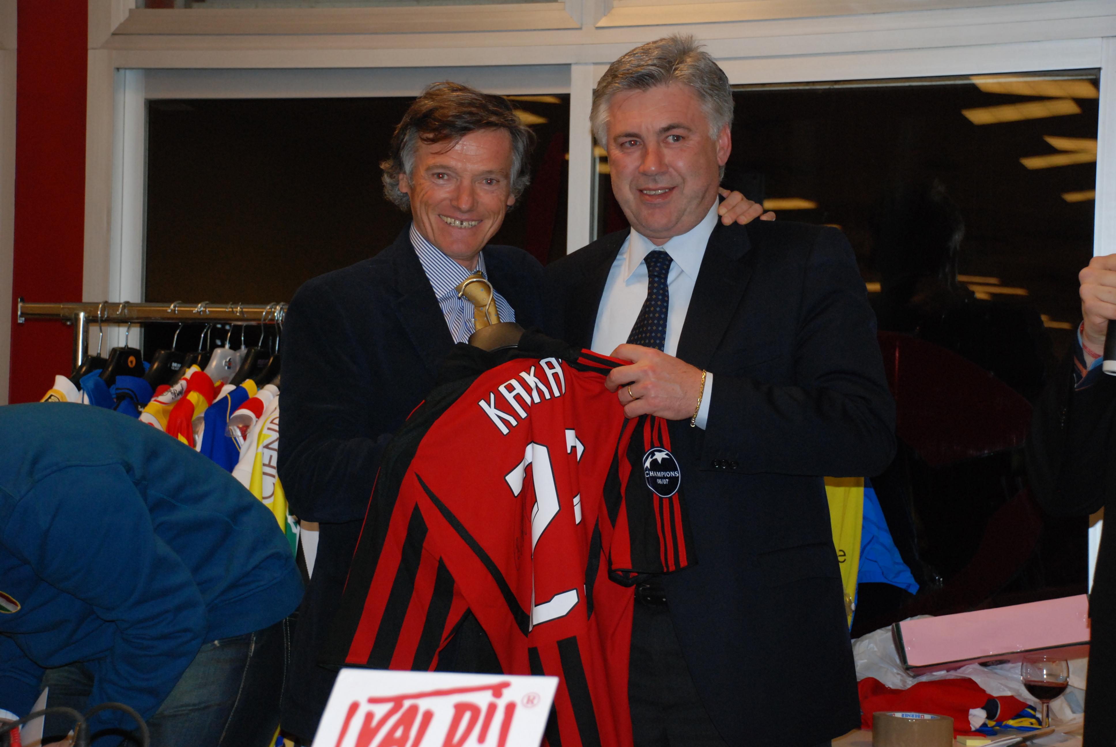 Gala G.Cimurri e Carlo Ancelotti