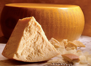Parmigiano cheese and ... anything else