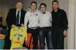 Gala dello Sport Bertaccini (pres.Edilesse volley) e Bonitta (coach Edilesse e naz.femminile voll