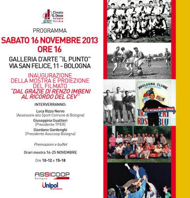 16 novembre 2013: I tranvieri e il calcio a Bologna