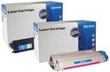 Laser toner rebuilt colorato