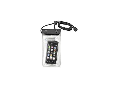 Outdoor porta telefono nero