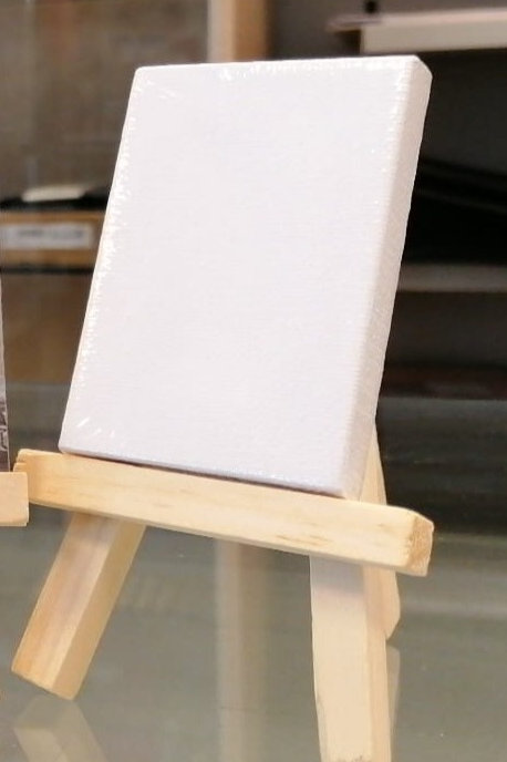 Tela per cavalletto legno portafoto