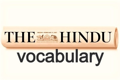 vocabulary of editorial #pandemic and  panic ; on tamilnadu's five-city lock down