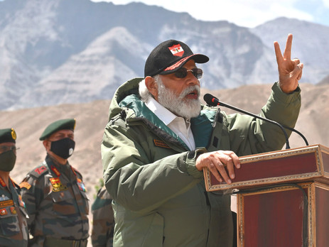 Too close for comfort: On India-China border row{PDF}