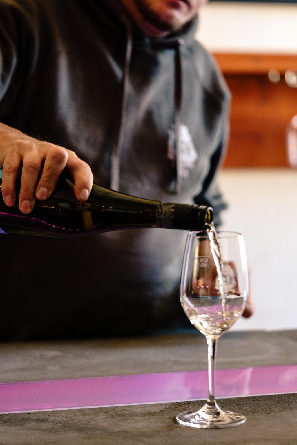 Weinprobe: Die Sinne entscheiden.