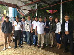 Members of Post 124 Orphanage Feeding