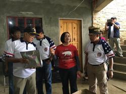 Cdr Joe and JVC Joe Bandao ready to give gifts to orphans