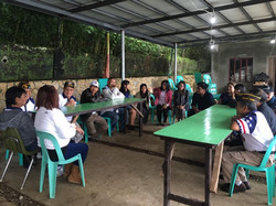 VFW Post 124 Members meeting with Orphanage personnel
