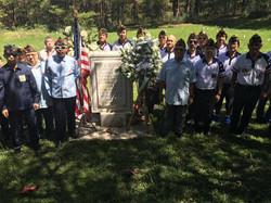 Post 124 Members on Memorial day