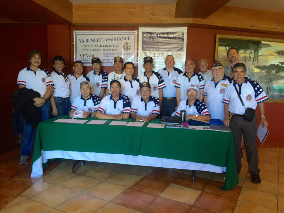 VFW Post 124 Members during the US Embassy Outreach