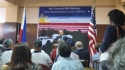 US Ambassador Goldberg meeting with VFW Members and US Cititizens during Baguio Museum